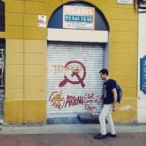 Серп і молот в Каталонії