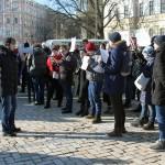 Досить брехати, досить вбивати! У Києві пройшла акція пам'яті Маркелова та Бабурової