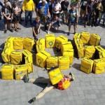 Ультиматум кур'єрів Glovo. Як кур'єри захищають свої права в Європі?