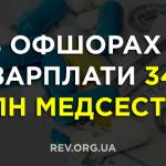 В офшорах – зарплати 34 млн медсестер