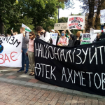 Націоналізуйте ДТЕК Ахметова, – Кліматичний марш у Києві